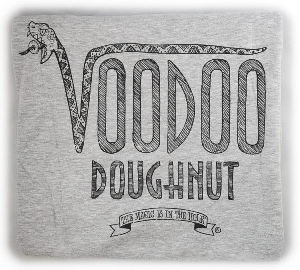 Voodoo Doughnut Worth The Weight T-Shirt -- Detail
