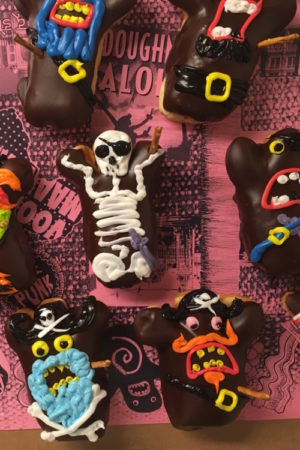 Pirate Voodoo Doll Doughnuts